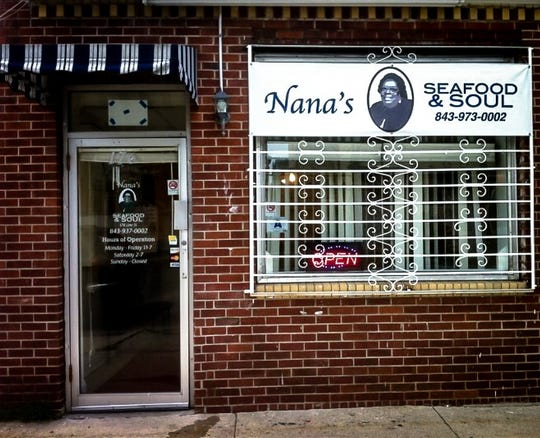 The original location of Nana's Seafood & Soul in Charleston, S.C., closed permanently during the COVID-19 pandemic. NOTE: The photo was taken before the pandemic.
