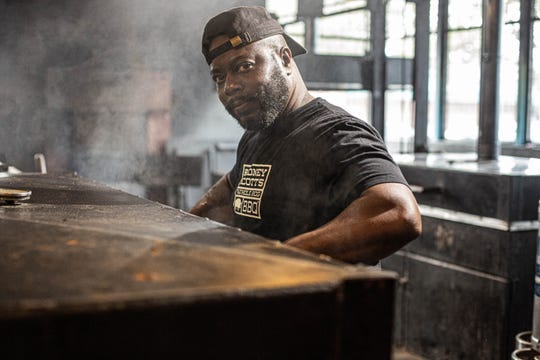 Rodney Scott is a James Beard Award-winning pitmaster with restaurants in Charleston, S.C., and Birmingham, Al. NOTE: The photo was taken before the COVID-19 pandemic.