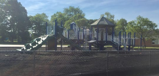 The Granville Elementary School playground is seeing improvements this summer thanks to the school PTO, including a new poured play surface to replace the rubber mulch currently used.