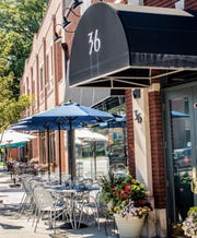 Osteria in Westwood will serve diners outdoors when restrictions lift in June.