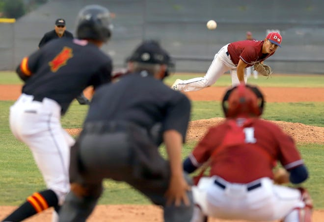 Fernie Munoz presented himself as a fearless pitcher with an aggressive nature of going after hitters. He has parlayed that mentality into a junior college baseball scholarship at Ventura College.