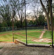 Eddie Zajdel has transformed his Plymouth backyard into a whiffle ball paradise.