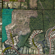 Eight new lots, shaded here in green, are located on Midway land that consists mostly of wetlands under a conservation easement. The cleared land adjacent to the shaded green lots is Nature's Cove, an 89-lot subdivision approved in 2018.