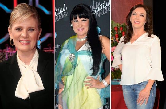 Erika Buenfil, Alejandra Avalos y Laura Flores.