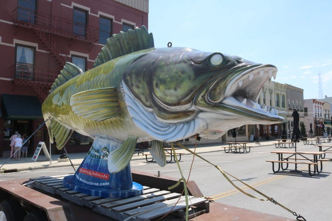 Wylie Walleye will still drop virtually to ring in the new year despite being damaged during a recent wind storm.