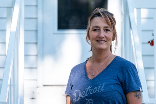 Sheila LaCroix, photographed Tuesday, June 2, 2020, at her home in St. Clair, co-owns Drifter's Restaurant and Lounge and LaCroix's Riverside Pub with her sister. LaCroix has non-Hodgkin's Lymphoma and local businesses hosted a fundraiser to support her, raising over $10,000.