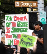 Protesters took to the streets of York for the second consecutive day, Tuesday, June 2, as emotions continued to boil over the death of George Floyd in Minneapolis the previous week and the state of policing in America.
