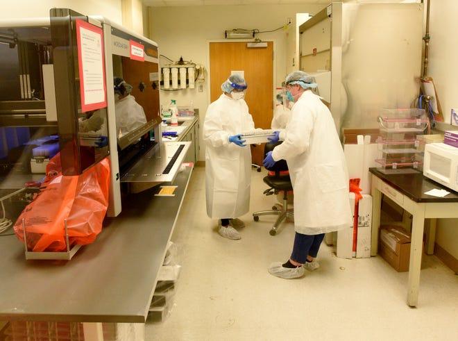 LSU Health Shreveport'sEmerging Viral Threat Lab.