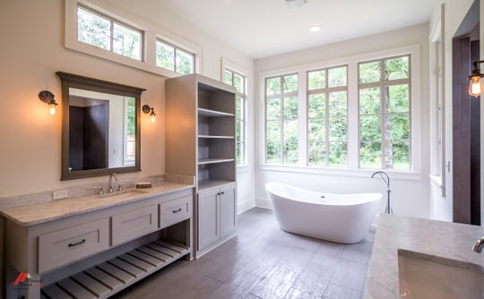 The home showcases the best of Louisiana's high-end design trends.