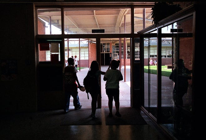 Arthur Circle Elementary School is one of three elementary schools considered for closure as part of a consolidation plan.