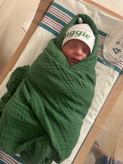 Auggie Valdez, son of Texas Rangers pitching coach Julio Valdez and El Pasoan Daphne Mora, was born May 21 at The Hospitals of Providence East Campus
