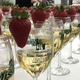 Rows of Champagne glasses await ticket holders at the Casa Pacifica Angels Wine, Food & Brew Festival in 2019. The event was canceled this year due to the coronavirus pandemic. A silent auction will take place online June 5-7.