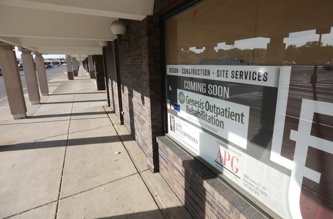 Genesis HealthCare is remodeling the former Big Lots on Maple Avenue to house Genesis Outpatient Rehabilition. The new facility is expected to open in the fall.
