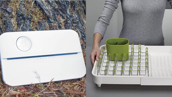 These gadgets will make it easier to water the plants and do the dishes.