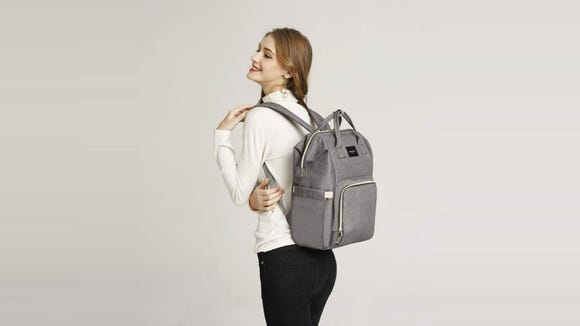 This diaper bag is sure to come in handy this summer.