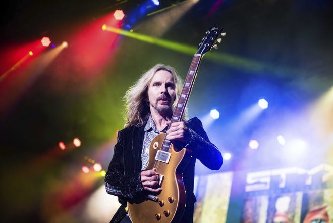 Styx, who played the Resch Center in 2018, had been expected to headline the Greenville Catfish Concert this year, but the event has been postponed until next year.