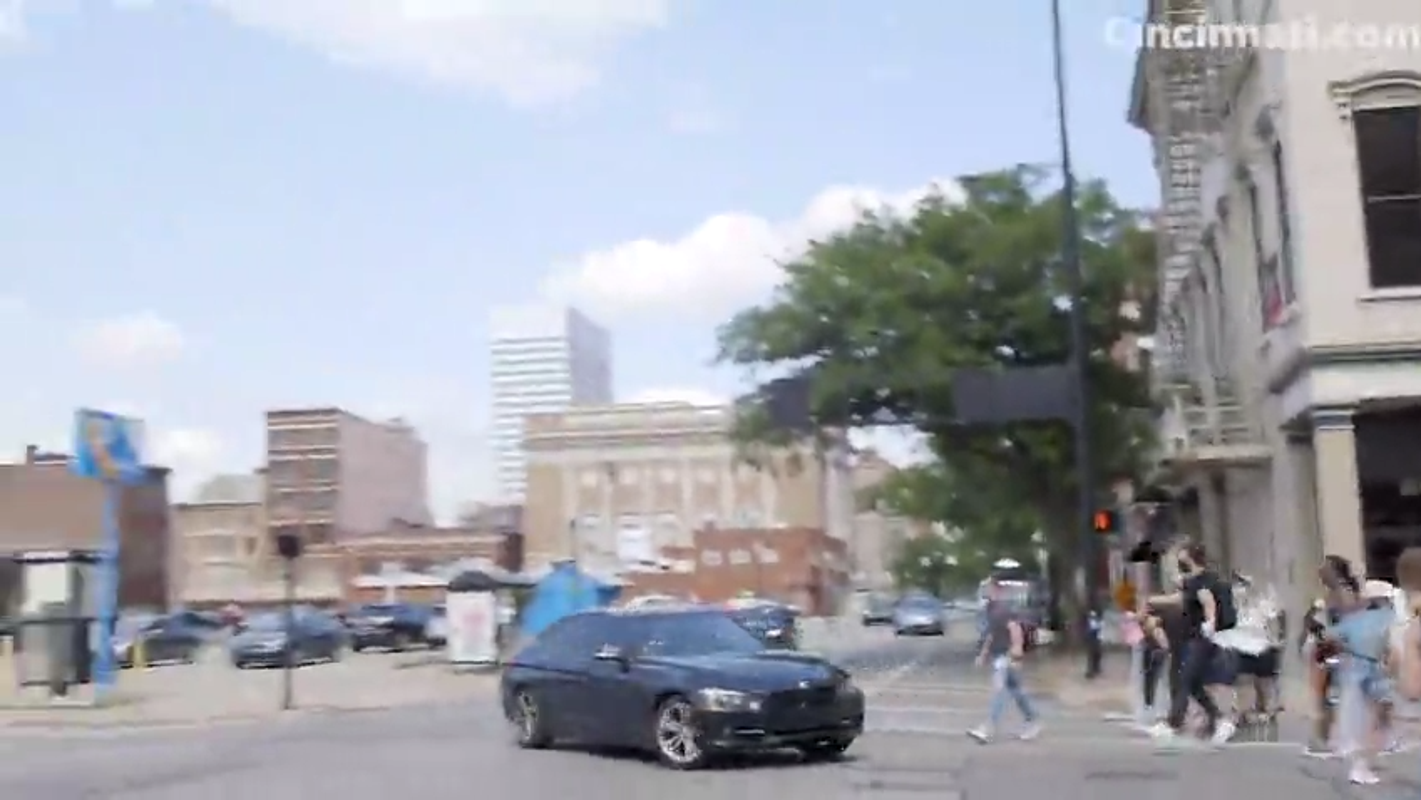 Police don't believe unidentified driver rammed into protesters Wednesday intentionally