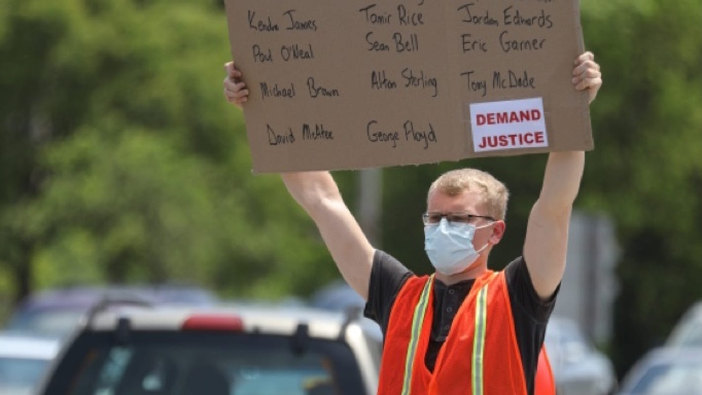 George Floyd protests: No protest arrests Wednesday, city curfew in effect at 11 p.m.