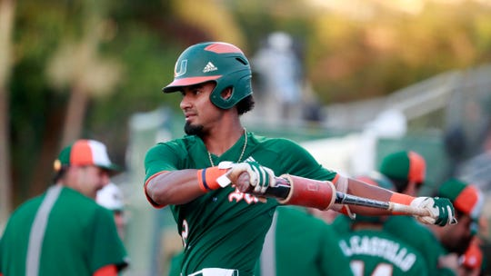 The Tigers could use their second-round selection on a shortstop such as Freddy Zamora (pictured) of Miami (Fla.).