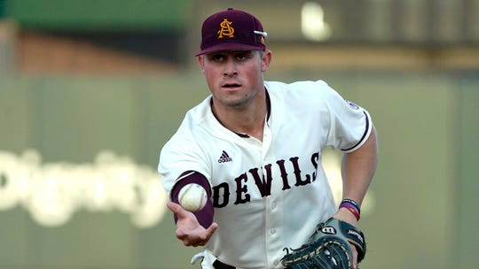 Arizona State first baseman Spencer Torkelson appears to be a lock for the Tigers, who hold the No. 1 overall pick in next week's MLB draft.