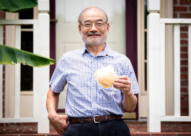 Peter Tsai, the inventor of the N95 filtration material, is photographed at his Knoxville home on Wednesday, June 3, 2020.