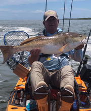 """Coronavirus made life slow down but fishermen knew the perfect solution to quarantine boredom: kayak fishing. Butch Ridgedell started kayak fishing seven years ago after finding out about the sport from Australian co-workers.  """"I started late,"""" he said. """"I'm one of the older guys, but I keepup with younger guys."""""""
