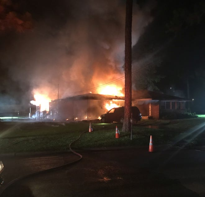 The fire took place in the 200 block of Commodore Circle in Montgomery. This is the third fire fatality in the city this year.