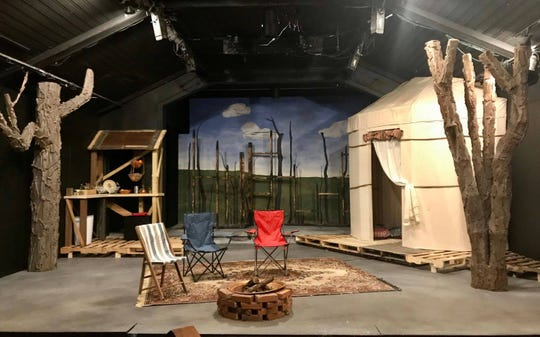 """The set stands ready at Cloverdale Playhouse, just waiting for audiences to be allowed to see Jane Anderson's """"The Quality of Life."""""""