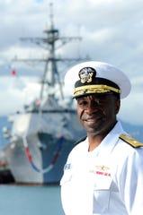 Rear Admiral Fernandez 'Frank' Ponds, USN, Retired, is a member of Autaugaville High School's class of '77.