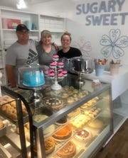Sugary Sweet Bakery, 119 E. Elm St. in Granville, is truly a family business, encompassing generations. Seen here are Scott, Kathy and daughter Brittany Budreau.