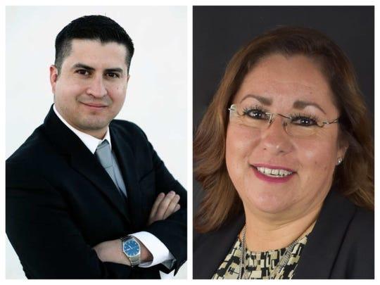 Eric Rodriguez and Gina Montoya Ortega, Democratic county treasurer candidates