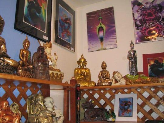 Funky Karma Incense & Tea Shop, located at 3207 S.Main St.