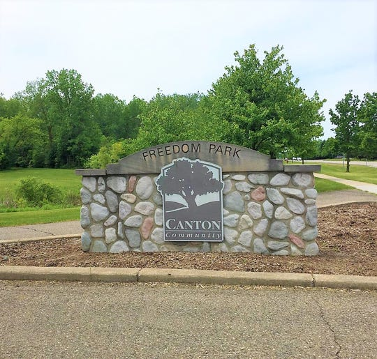 Canton's Freedom Park is open.