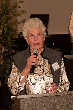 """Patricia """"Corky"""" Larson in 2011."""