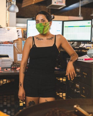 Lisette Barbera works as a production supervisor at Cartel Coffee Lab. She came up with the idea to create a coffee to raise money for the Black Lives Matter Phoenix Metro organization.
