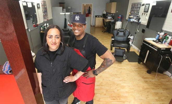 Marissa and Jose Rivera are getting ready to reopen their hair studio on Fetzner Road in Greece.