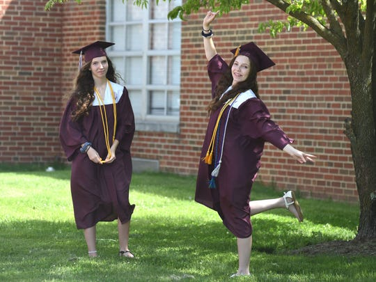 Stuarts Draft High School held the first day of its alternative graduation ceremony at the school Wednesday, June 3.