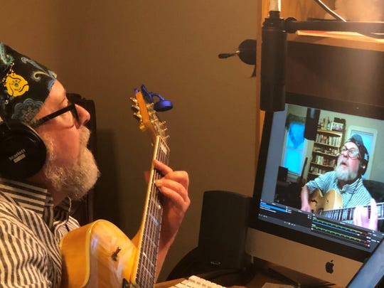 Local musician Muggsy Lauer has taken his music to Facebook Live during the COVID-19 pandemic.