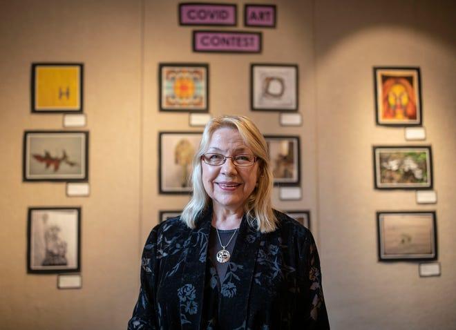 Lori Carlson, director of LeMoyne Arts.