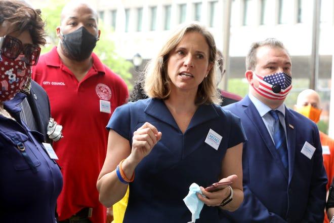 Le procureur de district du comté de Westchester, Mimi Rocah.