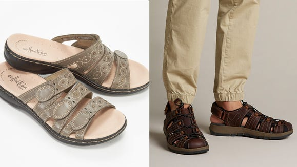 Stay comfortable in these popular styles from Clarks.