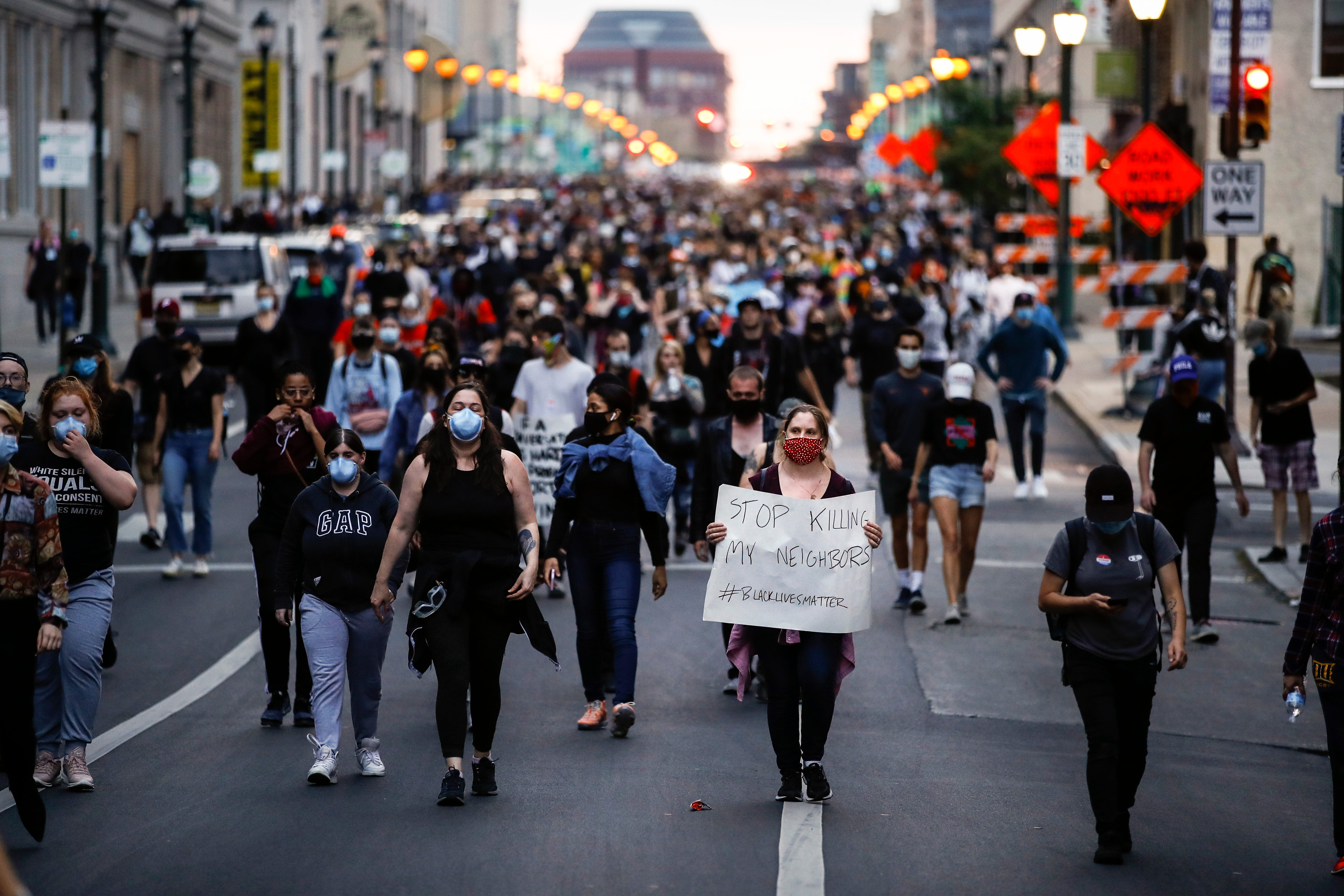 George Floyd live updates: Overnight protests largely peaceful across US; Pope says world cannot 'turn a blind eye to racism'