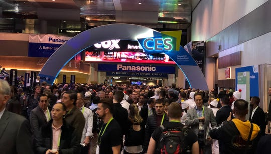 The annual CES trade show, which annually draws about 150,000 to Las Vegas for the multi-day event, will handle its 2021 crowds virtually with presentations, speakers and discussions done online.