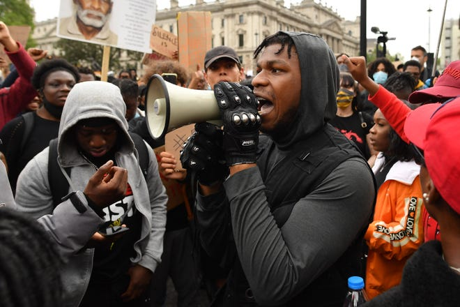 George Floyd protest: John Boyega speaks, Keke Palmer urges soldiers