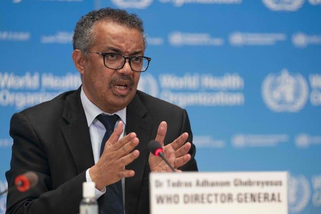 WHO Director General Tedros Adhanom Ghebreyesus cites inequalities in vaccine distribution