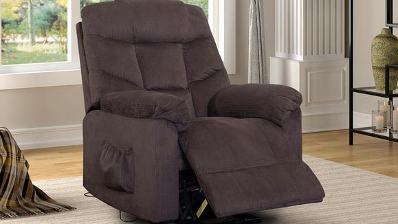 A luxurious, remote-controlled recliner for under $400? Yes, please!