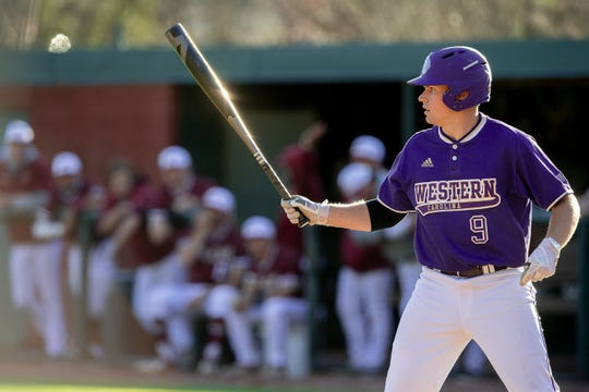 Western Carolina Catamounts baseball player Daylan Nanny.