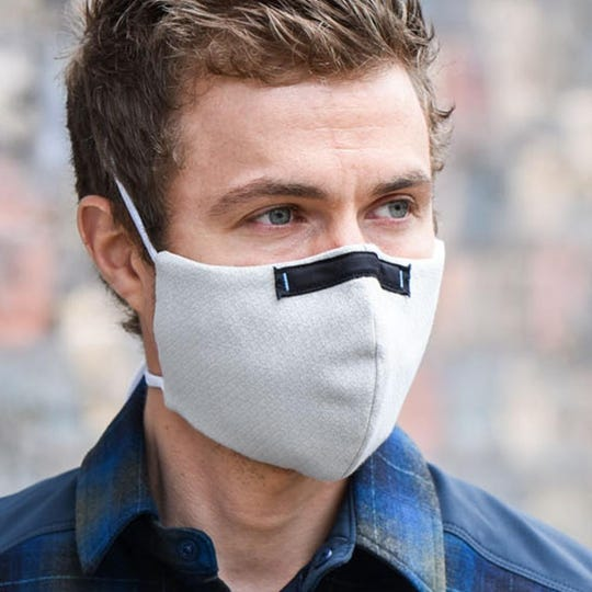 Kitsbow Cycling Apparel in Old Fort has just joined with Wake Forest Baptist Health to design a reusable mask for health care workers called the Wake Pro Tech.