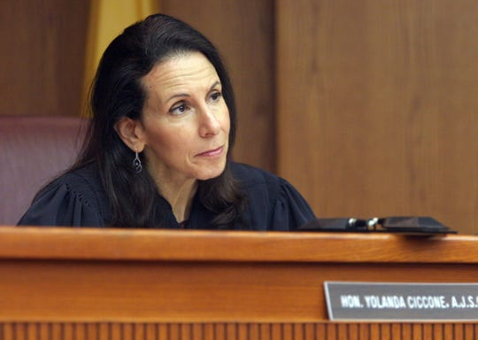 Former Somersert County Superior Court Judge Yolanda Ciccone has been sworn in as the new Middlesex County Prosecutor