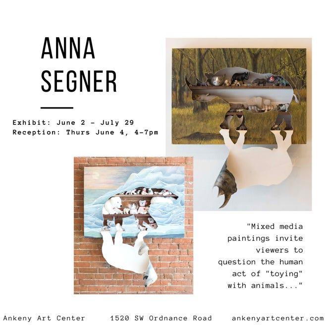 Ankeny Art Center hosts artist Anna Segner